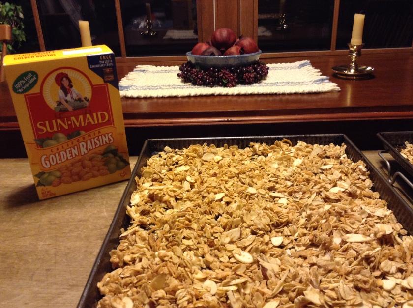 032415 homemade granola