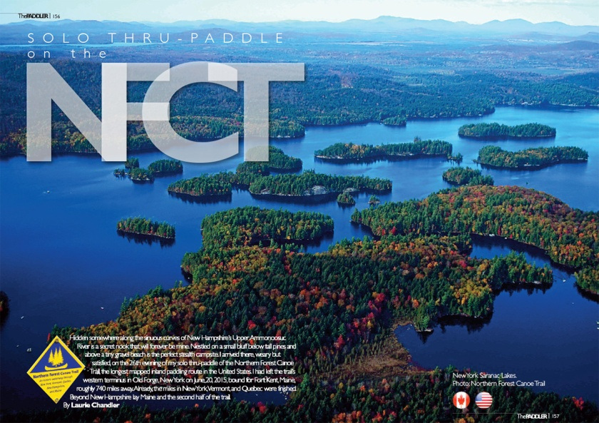 NFCT Paddler article 1 cover