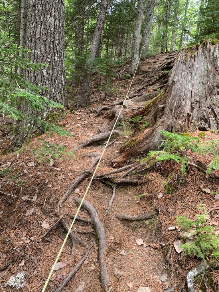 Ropes to Shin Brook Falls